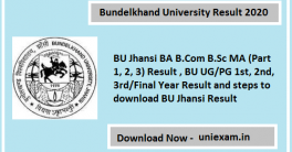 Bundelkhand University Result 2020