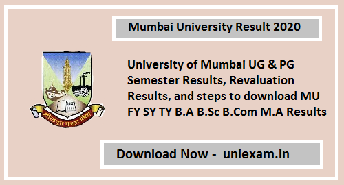 Mumbai University Result 2020