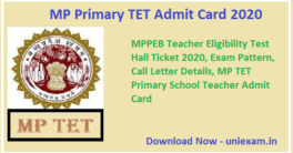 MP-Primary-TET-Admit-Card-2020